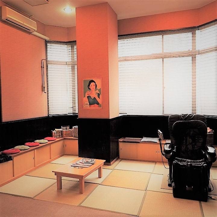 畳の休憩室